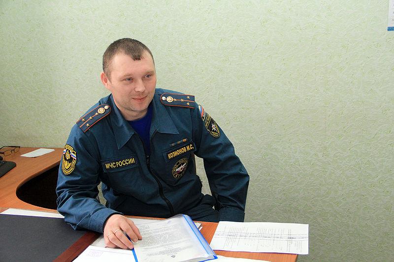 Максим Козионов считает, что правильно выбрал профессию Фото Анны Неволиной