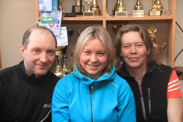 Николай Семенович, Алена Николаевна и Наталья Михайловна Тарбеевы Фото Анны Неволиной