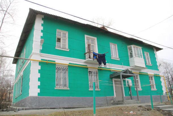 Дом №10 по улице Горняков Фото Анны Неволиной