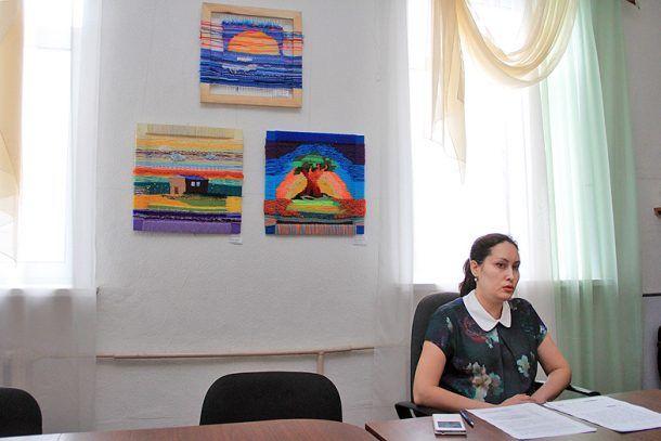 Новый директор художественной школы Евгения Шитова  Фото Анны Неволиной