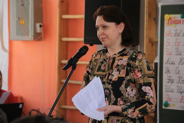 Заместитель начальника управления образования по городскому округу Первоуральск Ирина Винокурова