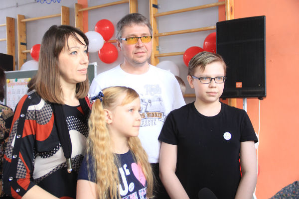 Семья Елькиных