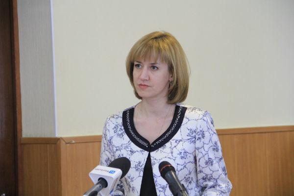 Татьяна Максименко, председатель комитета по управлению муниципальным имуществом Первоуральска
