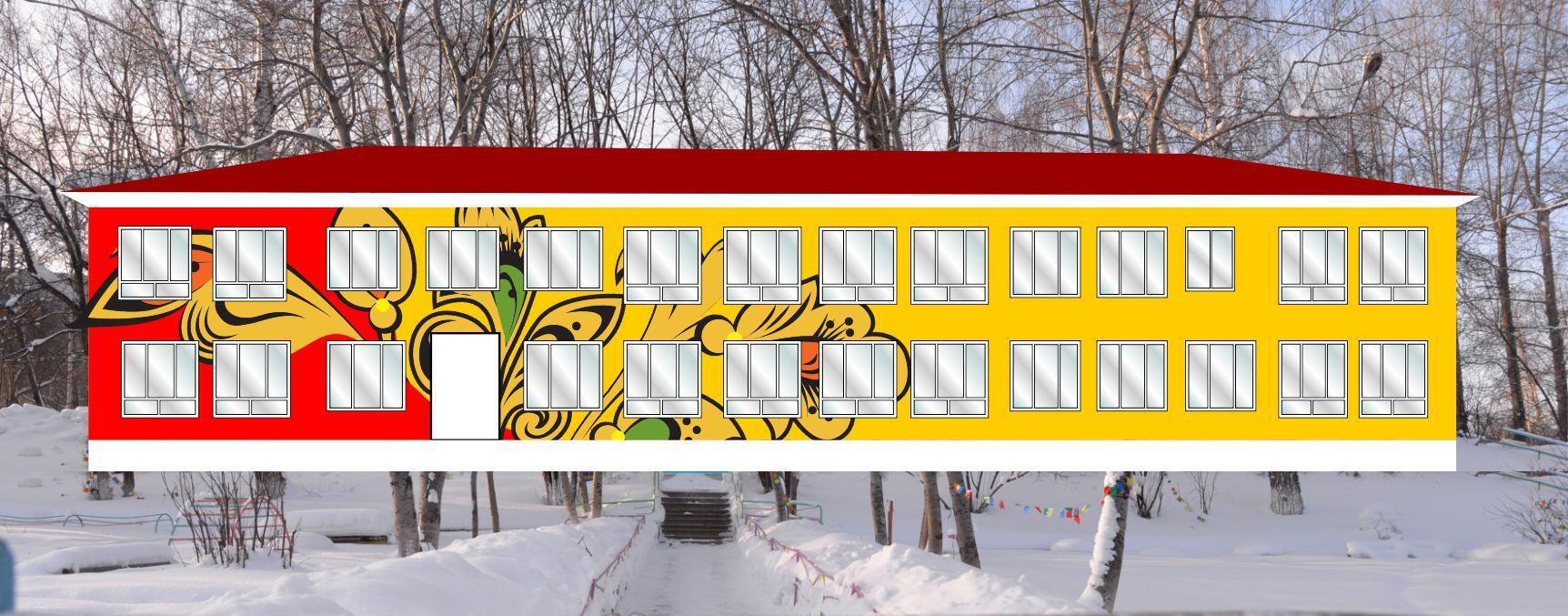 Так здание на улице Пушкина будет выглядеть после ремонта