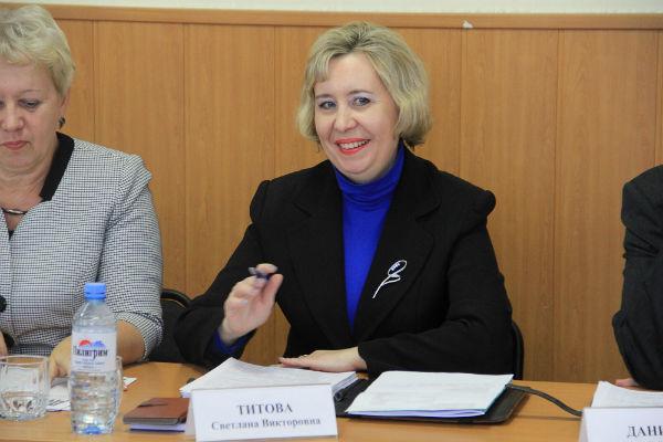 Депутат Светлана Титова Фото Анны Неволиной