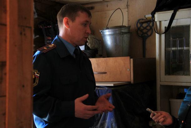 Заместитель начальника отдела надзорной деятельности Дмитрий Андриянов Фото Марии Поповой