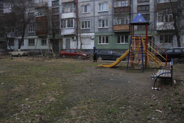 Сейчас двор не в самом лучшем состоянии Фото Анны Неволиной