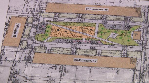План благоустройства двора дома №12 по проспекту Ильича Фото предоставлено Екатериной Жилиной