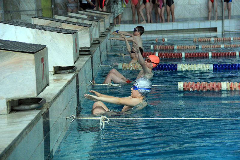 В Первоуральске прошло первенство города по плаванию