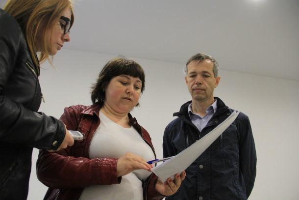 Юлия Одинцова уверяет, что все сделала по правилам и строительным нормам Фото Анны Неволиной