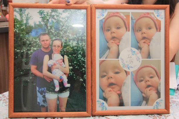 Наталья и Павел Куриловы не могут дождаться, когда заберут свою малышку домой Фото Анны Неволиной