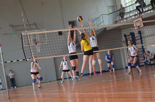 Первенство по волейболу среди девушек