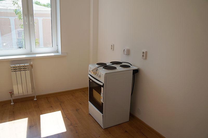 В каждой квартире электрическая плита Фото Ольги Хмеловй