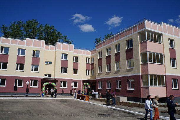Новый дом на Динасе по адресу ул Ильича, 9  Фото Ольги Хмеловй
