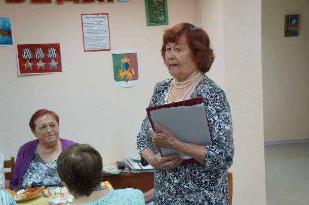 В Обществе инвалидов отметили день памяти и скорби  Фото Елены Шариповой