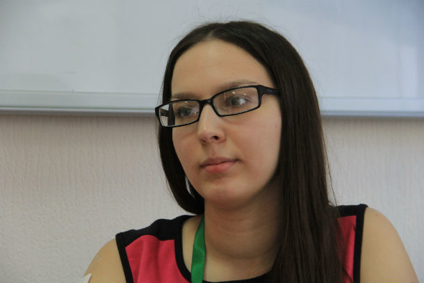 Дарья Быкова  Фото Анны Неволиной