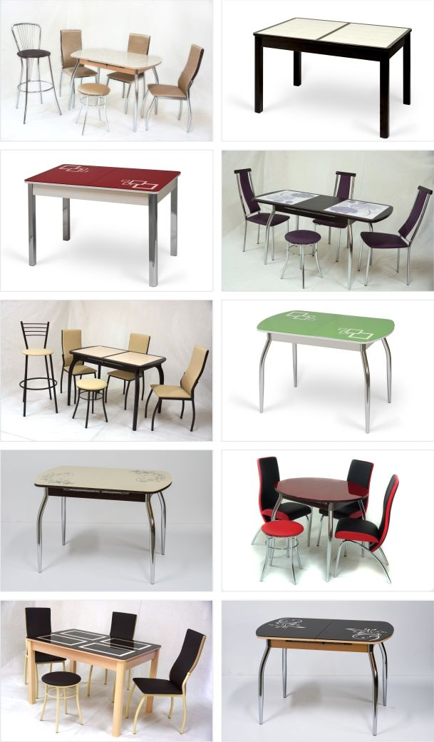 столы коллаж