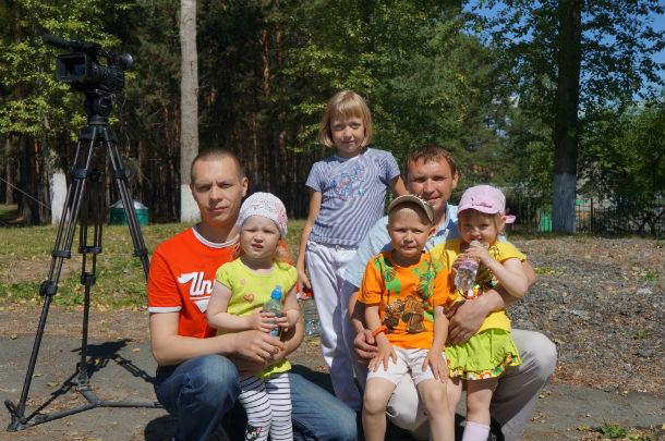 В Первоуральске отметили День любви, семьи и верности. Фоторепортаж