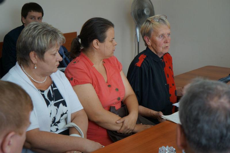 Алевтина Пшеницина (крайняя справа) Фото Марии Поповой