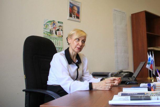 Председатель избирательной комиссии Ирина Ильина   Фото Анны Неволиной