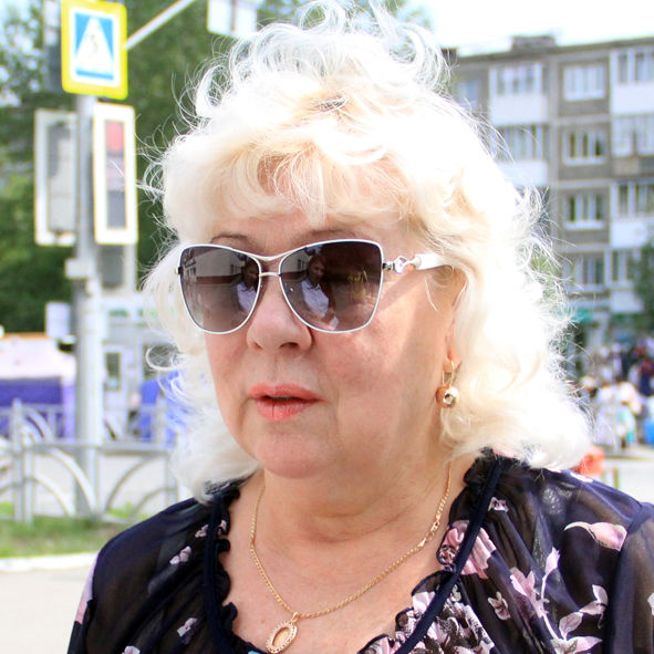 Любовь Казанцева, пенсионер