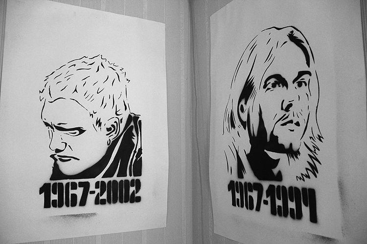 Лейн Стейли и Курт Кобейн — самые яркие представители стиля гранж Фото Анны Неволиной