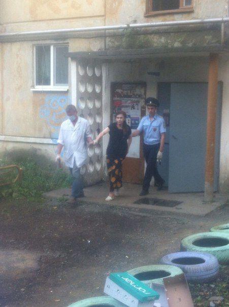 Галину Кактус отвезли в психиатрическую больницу Фото Марии Хлыновой
