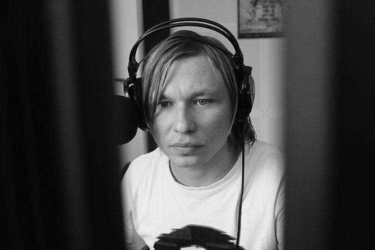 Радиоведущий станции Александр Булгаков Фото Анны Неволиной