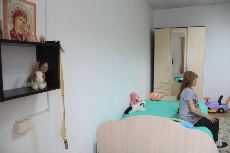 Приют рассчитан на 8-10 мам с детьми