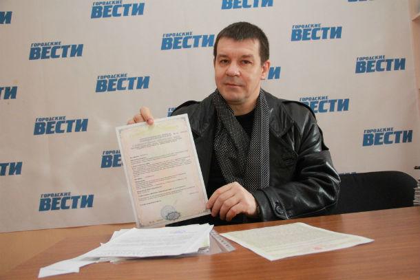 Олег Шулин  Фото из архива редакции