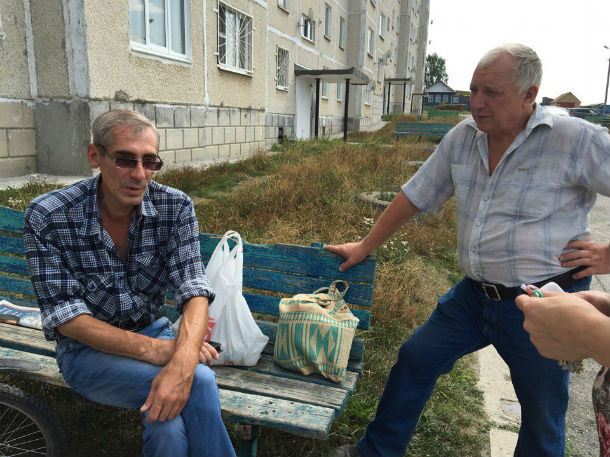 Игорь Леонтьев (слева) Фото Марии Поповой