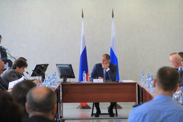 Денис Паслер во время своего последнего визита в Первоуральск. Фото Анны Неволиной