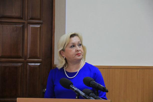 Начальник управления образования Елена Исупова  Фото Анны Неволиной