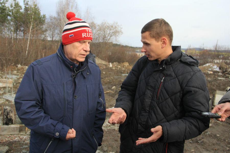 Александр Цедилкин и Александр Андреев Фото Анны Неволиной
