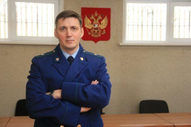 Андрей Елисеев, старший помощник прокурора Первоуральска Фото Анны Неволиной