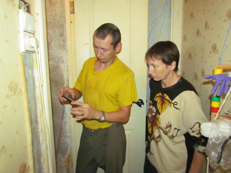 Зоозащитники Михаил Плешнев и Лариса ВорончихинаФото Екатерины Каладжиди