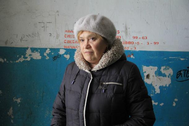 Наталья Трубникова  Фото Анны Неволиной