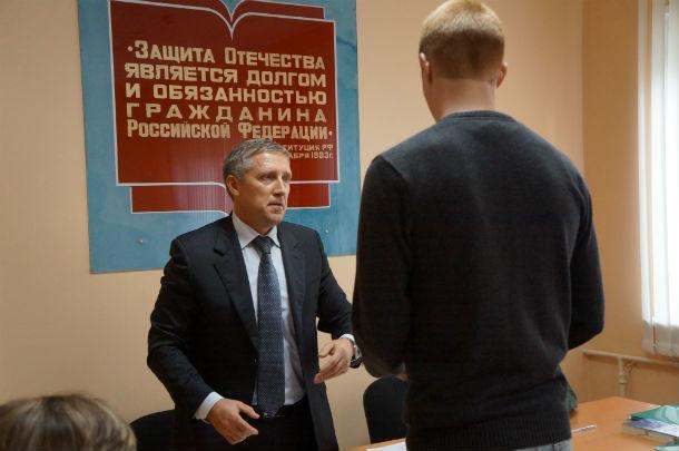 Валерий Хорев (слева) Фото Елены Шариповой