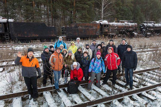 Участники экспедиции Фото Александра Галицких