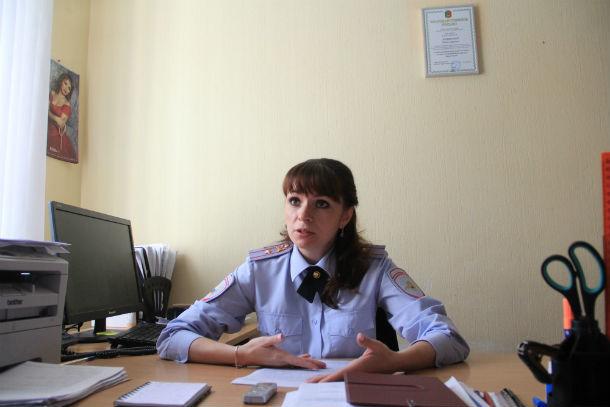 Начальник отдела ПДН по Первоуральску Юлия Хомякова