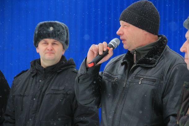 Валерий Ильенко (справа) Фото Анны Неволиной