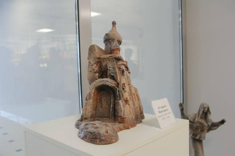 "Скульптура ""Старый Новгород""Фото Екатерины Каладжиди"