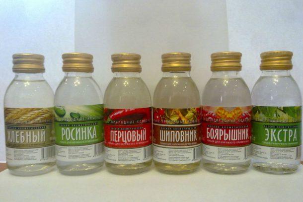 ВОренбуржье продолжают торговать непищевой спиртосодержащей продукцией